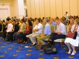 La foule qui a participé à l'événement de la R.D. Congo à la 37ème session de L'UNESCO au Cambodge