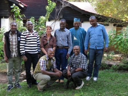 Une Photo de Famille de Participants