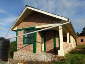 la maison construite sous financement de l'USAID